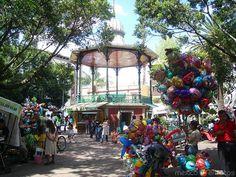 Jardín Juárez, Cuernavaca, Morelos, Mexico.