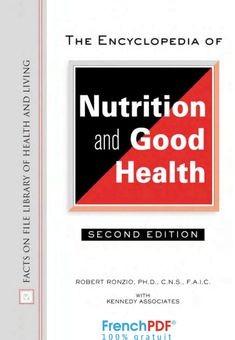 The Encyclopedia of Nutrition and Good Health PDF #frenchpdf #englishbook #pdf #food #nutrition #health
