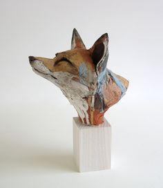 Ceramic Animal Sculpture - Nichola Theakston Ceramic Sculpture