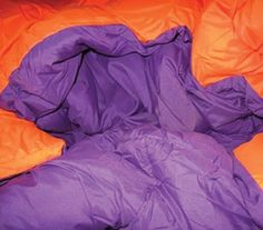 This Orange/Purple Reversible College Comforter - Twin XL is a great dorm room decoration. Cheap twin xl bedding is always popular among college students. Bold college decor is a great graduation gift idea for college freshmen and dorm roommates. Purple Dorm Rooms, Cool Dorm Rooms, College Comforter, Twin Xl Comforter, Duvet, Dorm Comforters, Dorm Room Bedding, Bedding Sets, Dorm Room Gifts