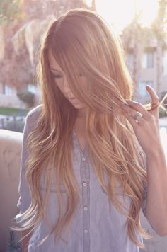 summer hair....don't know how long i can last brunette, and this is the greatest shade of blondish brown!