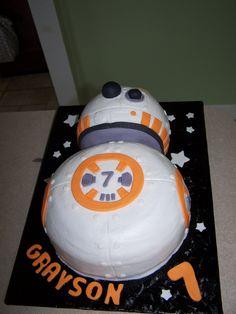 BB 8 Star Wars cake