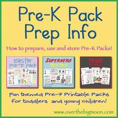 Pre-K Kits & Prep Info