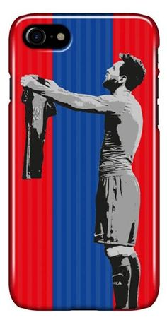Lionel Messi Barcelona 2017 iconic football mobile case for iPhone at FC Football Cases