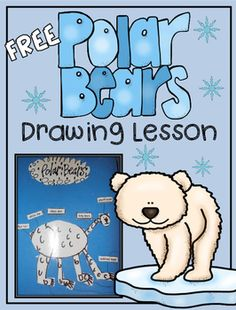 This is a fun, unique way of teaching a directed drawing lesson. Students are highly engaged in drawing each polar bear body part as they read step-by-step directions in a duet style, along with a brief description of the body. You may also like out Polar Bear Mini-Mega Science, Reading, Writing, and Art Unit Polar Bear Lesson