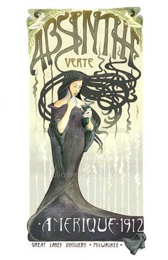 absinthe poster - Google Search