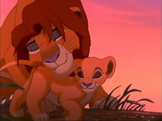 Lion king 2 simba and kiara