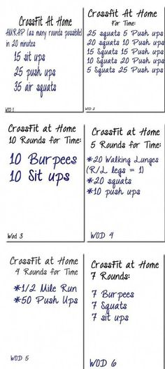 6 Crossfit workouts to try at the hotel when we are on vacation after we come back from a full day of hiking :) we shall see! 6 Crossfit workouts to try at the hotel when we are on vacation after we come back from a full day of hiking :) we shall see! Fitness Workouts, Gewichtsverlust Motivation, At Home Workouts, Workout Exercises, Crossfit Workouts For Beginners, Circuit Workouts, Kettlebell Circuit, Body Exercises, Training Exercises