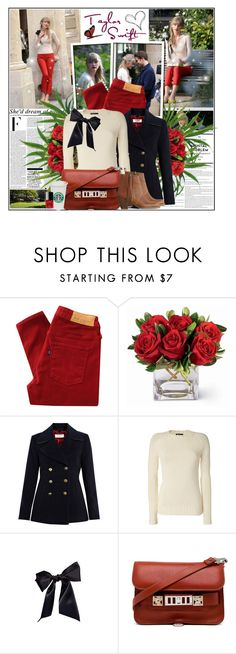 """""""25/10/2012 I'm so swift, my first name should be Taylor"""" by thefrenchfashionista ❤ liked on Polyvore featuring BeginAgain Toys, 7 For All Mankind, Nicki Minaj, Levi's Made & Crafted, Paul by Paul Smith, Balmain, Bocage, Proenza Schouler, Acne Studios and Sephora Collection"""