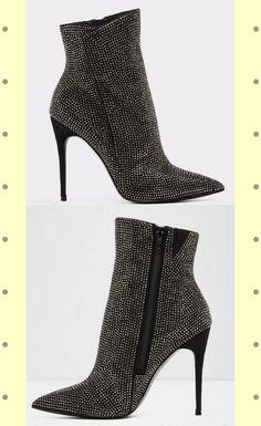 7c8764ddb2e Ibigoclya Midnight Black Women s Dress boots