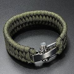 Luggage & Bags Wholesale 5pcs*7 Strand Survival Military Weave Bracelet Cord Buckle Purple