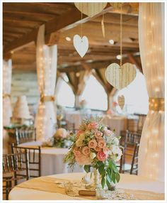 Great Lakes Love » Barn Wedding Inspiration