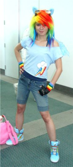Rainbow Dash Cosplay by Gaaras-Chocolate.deviantart.com on @deviantART