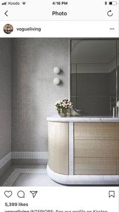 SJB Bathroom - something different! Latest Bathroom Tiles, Best Bathroom Designs, Modern Bathroom, Contemporary Bathroom Lighting, Contemporary Baths, Australian Interior Design, Interior Design Awards, Bathroom Design Layout, Bathroom Interior Design