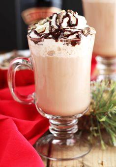 Baileys Peppermint Hot Chocolate | 3 Yummy Tummies