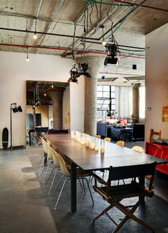 Virlova Style: [Interior] un loft en Brooklyn. Minimalismo industrial