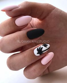 Nail Design for Summer 2019 - New Ideas for Summer Manicure, The Latest Trends i. Nail Design for Summer 2019 - New Ideas for Summer Manicure, The Latest Trends in Summer Nail Art in The Photo Summer Acrylic Nails, Best Acrylic Nails, Summer Nails, Fall Nails, Acrylic Nail Designs For Summer, Cute Nails, My Nails, Vegas Nails, Pretty Nails