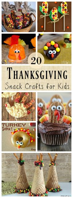 20 Edible Thanksgiving Crafts for Kids – Southern Made Simple 20 Edible Thanksgiving Crafts for Kids – Southern Made Simple,Creole MAMA! 20 Fun and Deeee-lish Thanksgiving themed crafts for kids that are edible! Thanksgiving Crafts For Kids, Thanksgiving Parties, Thanksgiving Activities, Thanksgiving Decorations, Thanksgiving Table, Halloween Decorations, Easter Crafts, Thanksgiving Recipes, Holiday Snacks