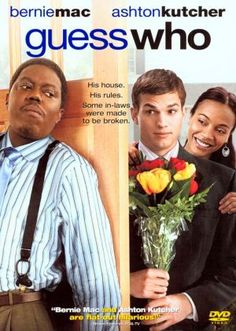 Rent Guess Who starring Bernie Mac and Ashton Kutcher on DVD and Blu-ray. Get unlimited DVD Movies & TV Shows delivered to your door with no late fees, ever. Funny Movies, Comedy Movies, Great Movies, Hd Movies, Movies Online, Awesome Movies, Ashton Kutcher, Love Movie, Movie Tv