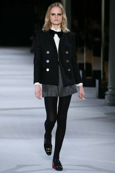 Saint Laurent Fall 2014 Ready-to-Wear Collection Slideshow on Style.com