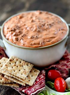 Hot Beef Dip Marinated Cheese, Easy Hummus Recipe, Caramelized Onion Dip, Beef Dip, Cheese Wrap, Cheese Ball, Appetizer Dips, Dip Recipes, Favorite Recipes