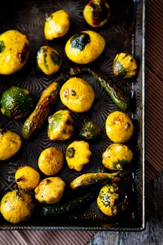 Tartelette: Scallops with Roasted Patty Pan Squash