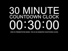 15 minute timer powerpoint
