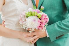 Romance and beautiful Pastels & Pinks Bridal Bouquet Bridal Bouquet Pink, Bridal Flowers, Greece Wedding, Civil Ceremony, Flower Bouquets, Pastel Pink, Pastels, Stylish Outfits, Wedding Day