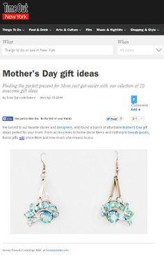Honey Rose & K on Time Out NY.com Mother's Day Gift Guide!  www.timeout.com/newyork/shopping/mothers-day-gift-ideas