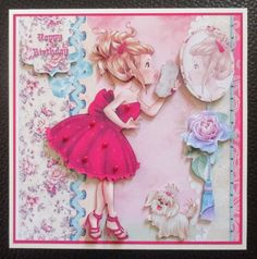 Pretty in Pink Lil Lady by Davina Rundle