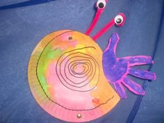 hermit crab craft//for A House for Hermit Crab mini unit
