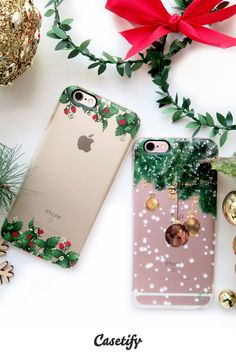 #Tech the halls! Shop these #Christmas ready phone cases here: http://www.casetify.com/artworks/yotl85m0GV