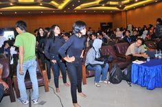 Menakutkan hitam..tapi menghibur dan mampu menarik antusias peserta #BN2011
