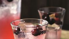 Carla Hall's Cranberry Soda