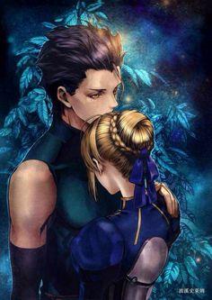 Lancer and Saber   _Fate/Zero
