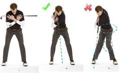 Top of Golf Swing Drill #1: This simple drill will show you if your shoulders are turning correctly through to the completion of the backswing.