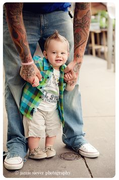 """#tattooed dad """"although we do not shake hands...Happy New Year 2014, wish GOD always be blassed."""""""