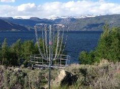 Lakeside Lodge in Pinedale, WY - Disc Golf Course Review