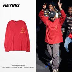Kanye West style Yeezy Hip hop SwagI feel like Pablo taylor swift beyonce long sleeve tee t-shirt