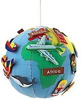 Mini World Globe - Young Children - Childshop - The Conran Shop UK Maps For Kids, Diy For Kids, Gifts For Kids, Globes Terrestres, World Globes, World Globe Crafts, Giant World Map, Kids Globe, Summer Camp Activities