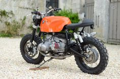 BMW R100 cafe racer scrambler tracker autocuiser Motos Charente - leboncoin.fr