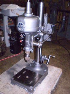Photo Index - Walker-Turner Co., Inc. - W/T Bench Model DDP 500   VintageMachinery.org