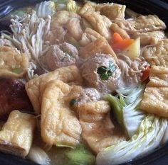 Miso Chanko Nabe with Chicken Meatballs (Sumo Wrestler Hot Pot) ちゃんこ鍋