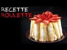 """""""The"""" charlotte aux fraises - Recette de cuisine Marmiton : une recette"""