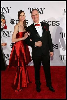 Malan Breton Collection   Keith Carradine in Malan Breton HOMME at The Tonys with Hayle Dumonde in MALAN BRETON COLLECTION