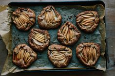 How to Make Pear Galettes with Spelt Crusts - Project Dessert