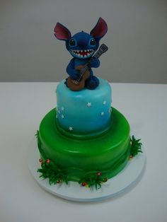 Stitch birthday cake!!!! I want it!!!!
