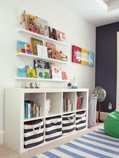 12 IKEA Hacks for the Bookshelf EVERYONE Has via Brit   Co