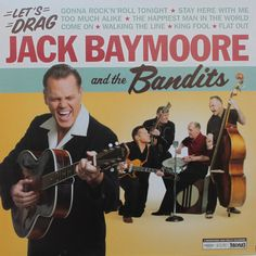 Jack Baymoore And The Bandits NOW available on LP12' Great collector records