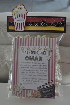 """movie night"" invitation"